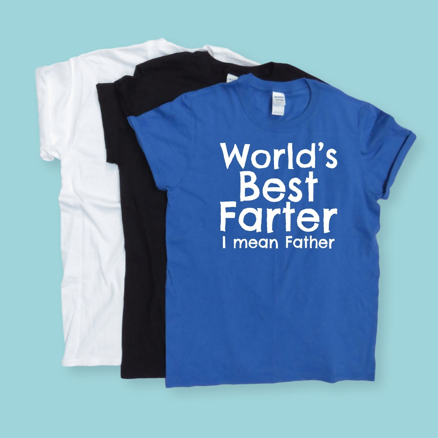 Worlds Best Farter Mean Father Tshirt Fathers Day Gift Dad Top Birthday For